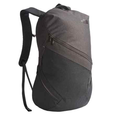 The North Face Aurora Backpack (For Women) in Rabbit Grey Black Heather/ Quail Grey - Closeouts