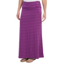 The North Face Ava Maxi Skirt (For Women) in Magic Magenta Stripe - Closeouts