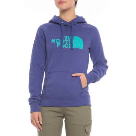 The North Face Avalon Half Dome Hoodie (For Women) in Brit Navy/Vistula Blue - Closeouts