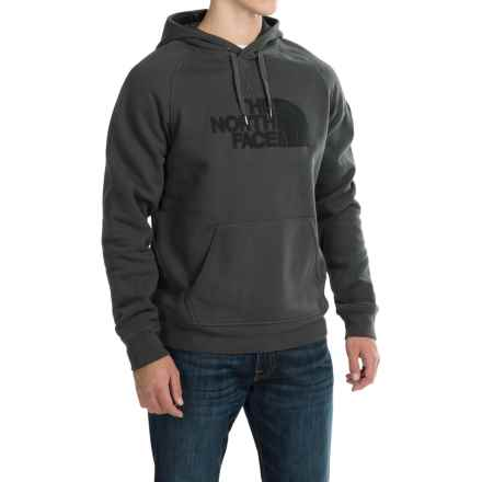 The North Face Avalon Pullover Hoodie - Cotton Blend (For Men) in Asphalt Grey/Tnf Black - Closeouts
