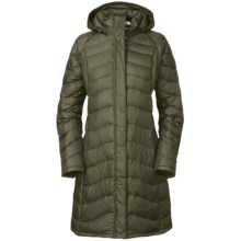 The North Face Avenue Down Parka - 600 Fill Power (For Women) in Fig Green - Closeouts