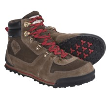 The North Face Back-to-Berkeley 68 Boots - Waterproof, Insulated (For Men) in Viszla Brown/Molten Red - Closeouts