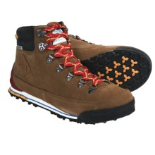 The North Face Back-to-Berkeley Boots - Waterproof, Nubuck (For Men) in Bronx Brown/Tnf Red - Closeouts