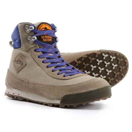 The North Face Back-to-Berkeley California Roots Boots (For Women) in Dune Beige/Bright Navy - Closeouts