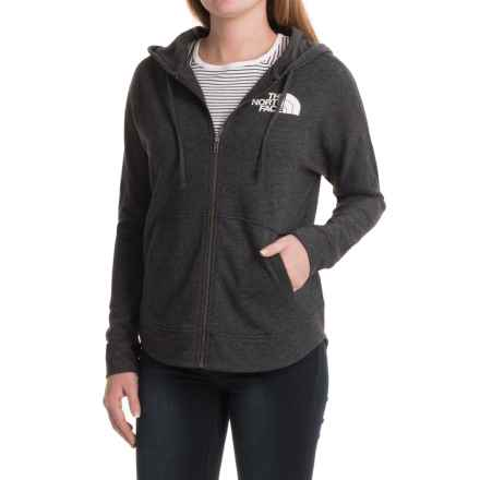 The North Face Backyard Hoodie - Full Zip (For Women) in Tnf Dark Grey Heather - Closeouts
