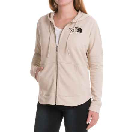 The North Face Backyard Hoodie - Full Zip (For Women) in Tnf Oatmeal Heather - Closeouts
