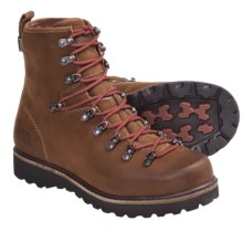 The North Face Ballard Boots - Waterproof (For Men) in Camel Brown/Slickrock Red - Closeouts