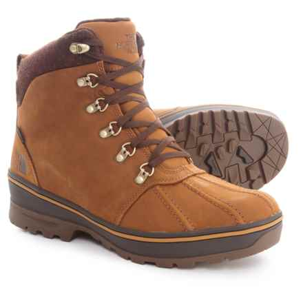 The North Face Ballard Duck Boots (For Men) in Dachshund Brown/Dijon Brown - Closeouts