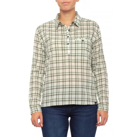 7dcb3b067 The North Face Barilles Pullover Shirt - Organic Cotton, Long Sleeve (For  Women)