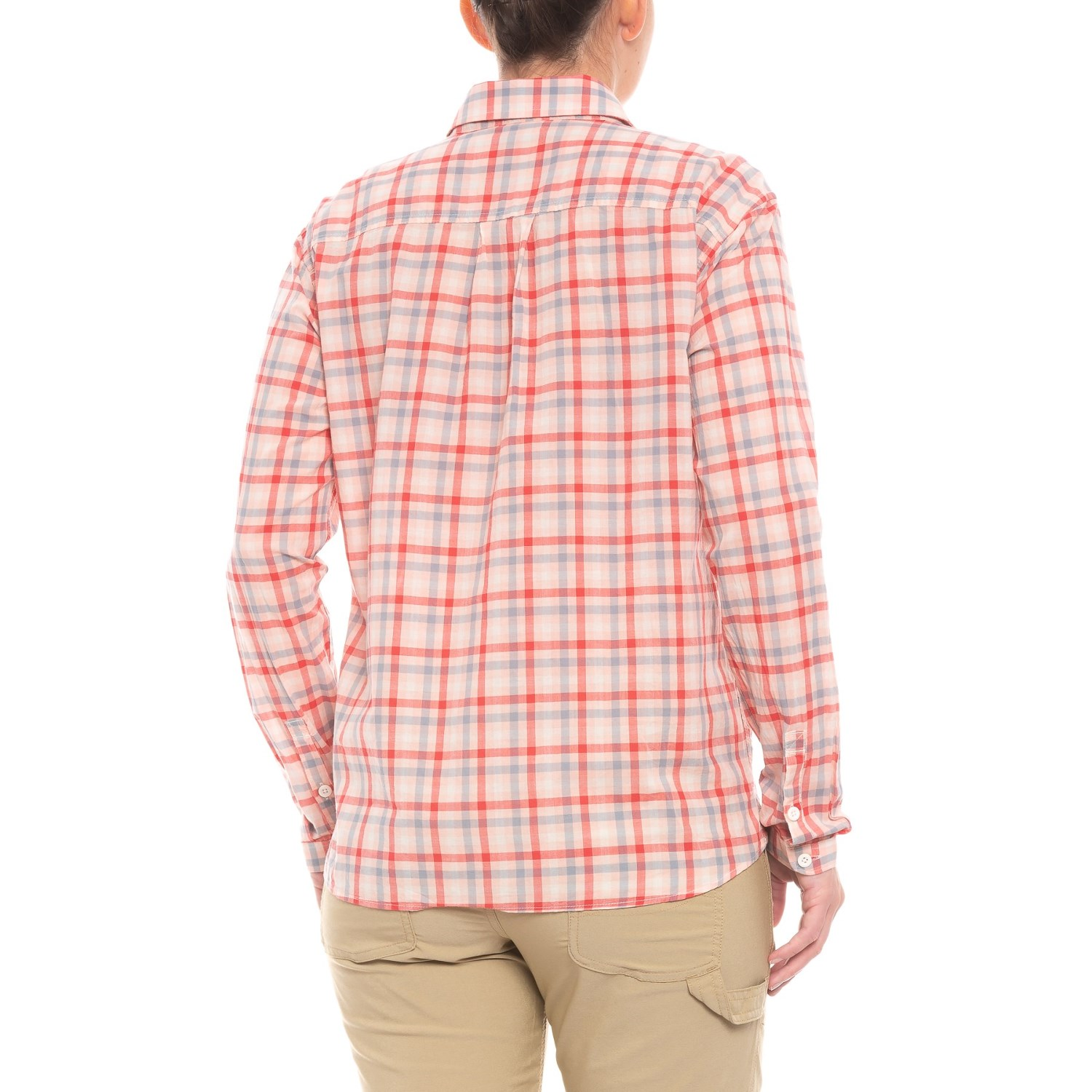 40b3e3a4b The North Face Barilles Pullover Shirt - Organic Cotton, Long Sleeve (For  Women)