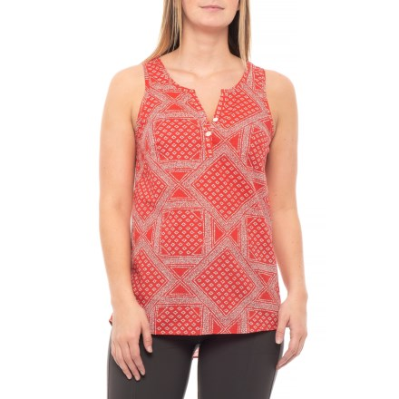 b1161f0a4ddbe The North Face Barilles Tank Top - Organic Cotton (For Women) in Sun Baked