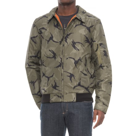 The North Face Barstol Aviator Jacket - Insulated (For Men) in  Nwtpgndsrptcmpt - Closeouts 1f1d194f2d5