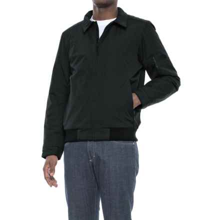 The North Face Barstol Aviator Jacket - Insulated (For Men) in Tnf Black - Closeouts