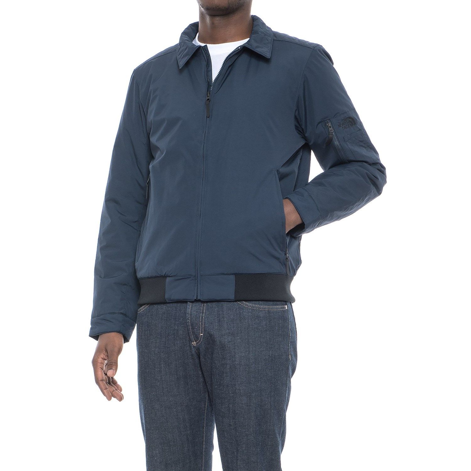 d7e5f7714 The North Face Barstol Aviator Jacket - Insulated (For Men ...