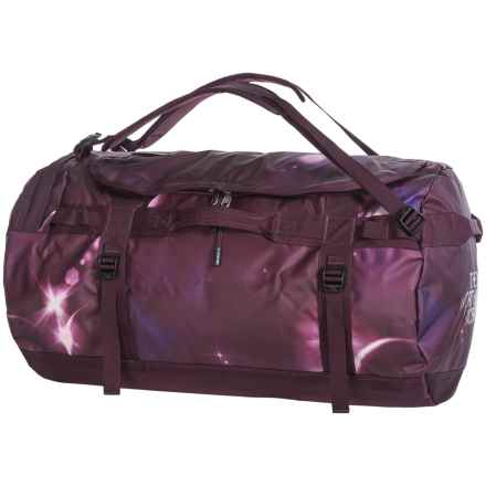 The North Face Base Camp Duffel Bag - Large in Solar Flare Print/Root Brown - Closeouts
