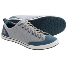 The North Face Base Camp Sneakers (For Women) in Indian Teal Blue/Atmosphere Grey - Closeouts