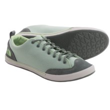 The North Face Base Camp Sneakers (For Women) in Sedona Sage Grey/Paradise Green - Closeouts