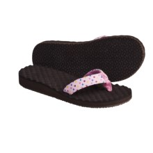 The North Face Base Camp Wedge Sandals - Flip-Flops (For Girls) in Pink Lady/Gum Pink - Closeouts