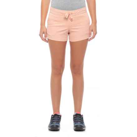 The North Face Basin Shorts - Organic Cotton  (For Women) in Evenng Sand Pink - Closeouts