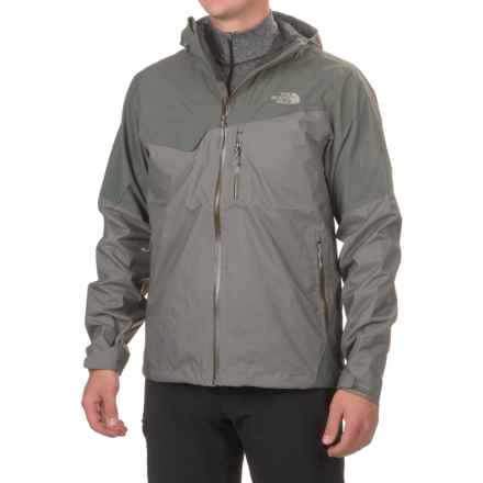 The North Face Berenson Jacket - Waterproof (For Men) in Fusebox Grey Texture/Fusebox Grey - Closeouts