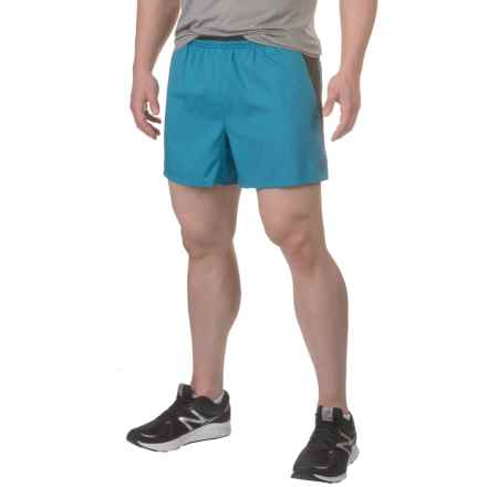 "The North Face Better than Naked 5"" Shorts - Built-In Brief (For Men) in Banff Blue/Tnf Black - Closeouts"