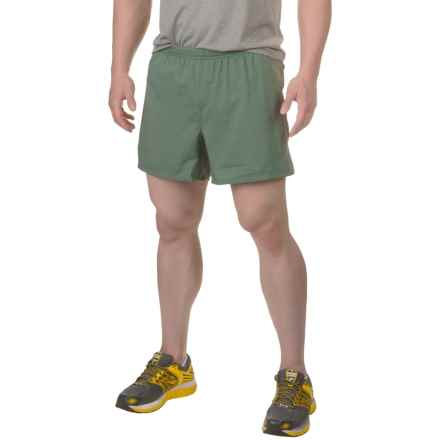 "The North Face Better than Naked 5"" Shorts - Built-In Brief (For Men) in Climbing Ivy Green/Duck Green - Closeouts"