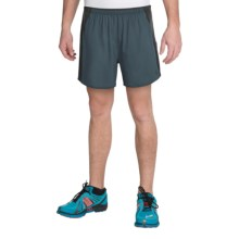 """The North Face Better Than Naked 5"""" Shorts - Built-In Brief (For Men) in Conquer Blue/Tnf Black - Closeouts"""