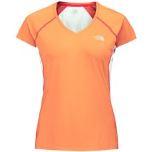 The North Face Better Than Naked Cool Shirt - Short Sleeve (For Women) in Impact Orange - Closeouts