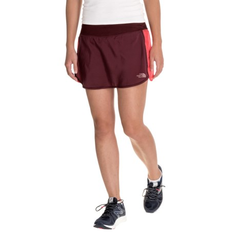 The North Face Better than Naked Long Haul Skort (For Women) in Deep Garnet Red/Cayenne Red