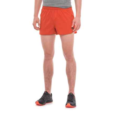 The North Face Better than Naked Shorts - Built-In Briefs (For Men) in Ketchup Red/Acrylic Orange - Closeouts