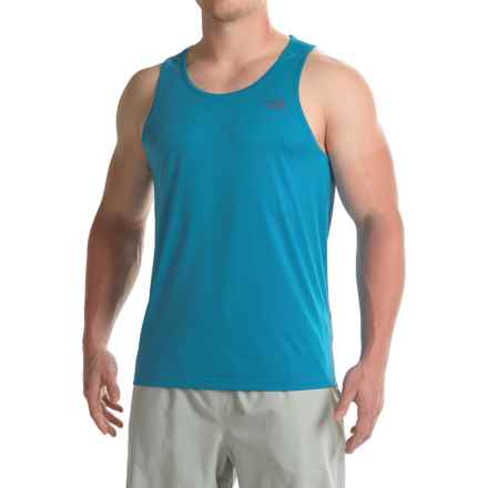 The North Face Better Than Naked Singlet (For Men) in Blue Aster/Banff Blue - Closeouts