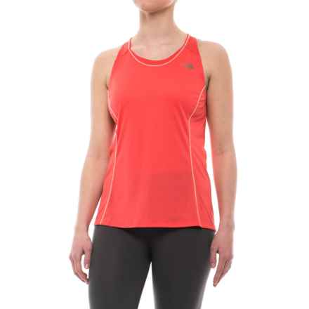 The North Face Better than Naked Singlet Top - UPF 15 (For Women) in Cayenne Red - Closeouts