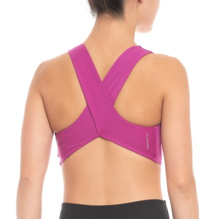 d5cb565aaf The North Face Beyond the Wall Free Motion Sports Bra (For Women) in Wild