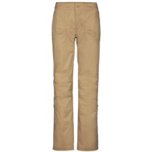 The North Face Bishop Pants - UPF 30, Roll-Up Legs, Stretch Cotton (For Women) in Moab Khaki - Closeouts