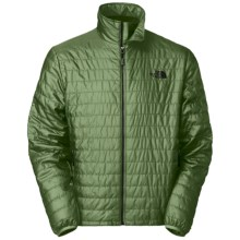 The North Face Blaze Jacket - Insulated, Full Zip (For Men) in Conifer Green - Closeouts