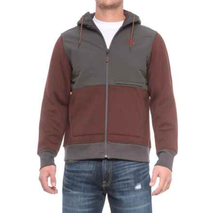 The North Face Blocked Thermal 3D® Jacket (For Men) in Sequoia Red Heather - Closeouts
