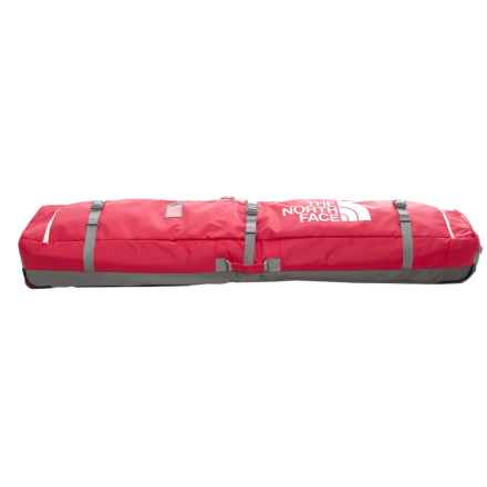 The North Face Board Roller Snowboard Bag in Tnf Red/Zinc Grey - Closeouts