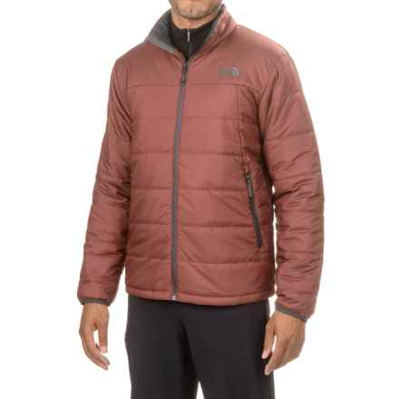 The North Face Bombay Jacket - Insulated (For Men) in Hot Chocolate Brown - Closeouts