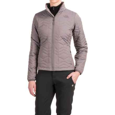 The North Face Bombay Jacket - Insulated (For Women) in Rabbit Grey Heather - Closeouts