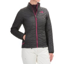 The North Face Bombay Jacket - Insulated (For Women) in Tnf Black/Dramatic Plum - Closeouts