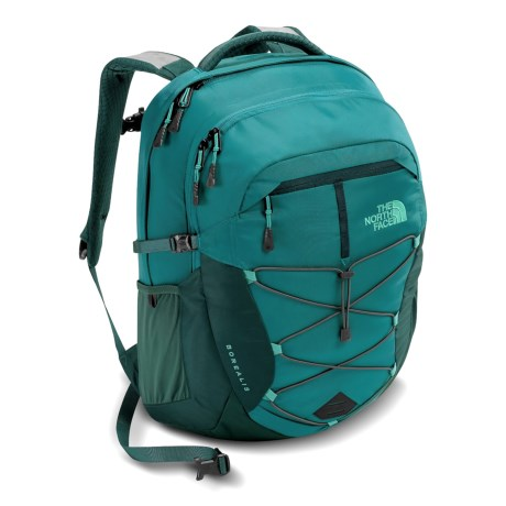 The North Face Borealis 25L Backpack (For Women) in Harbor Blue/Atlantic Deep Blue
