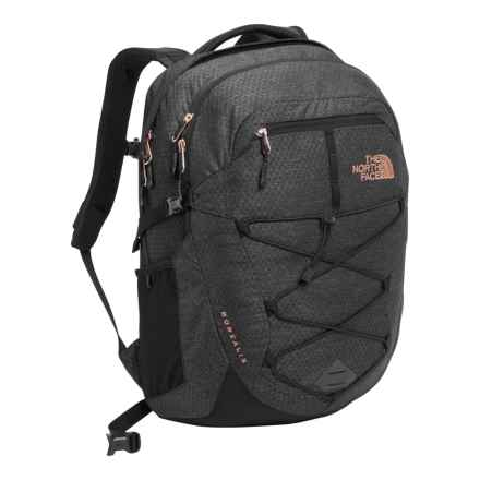 The North Face Borealis 25L Backpack (For Women) in Tnf Black Heather - Closeouts
