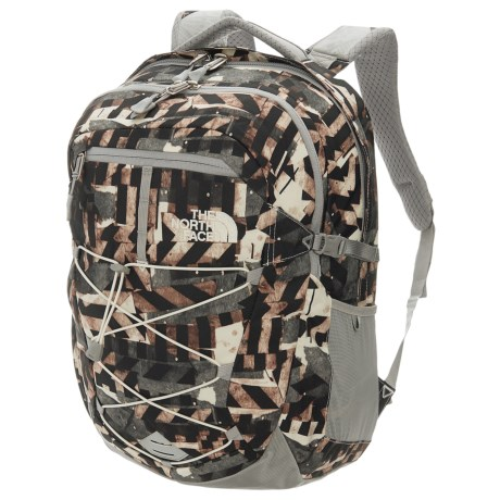 The North Face Borealis 25L Backpack (For Women) in Vintage Whtie Pieces Print