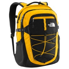 The North Face Borealis Backpack in Spectra Yellow/Tnf Black - Closeouts