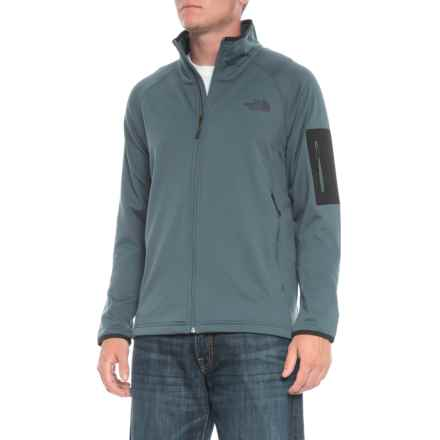 The North Face Borod Full Zip Jacket (For Men) in Conquer Blue - Closeouts