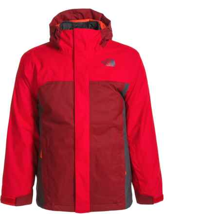 The North Face Boundary Triclimate® Jacket (For Little and Big Boys) in Tnf Red - Closeouts