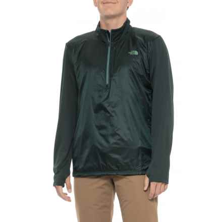 The North Face Brave the Cold Wind Jacket - Zip Neck (For Men) in Darkest Spruce - Closeouts