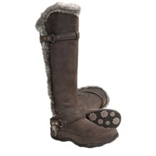 The North Face Brianna II Winter Boots - Waterproof, Insulated (For Women) in Mud Spring Brown/Deep Chestnut Brown - Closeouts