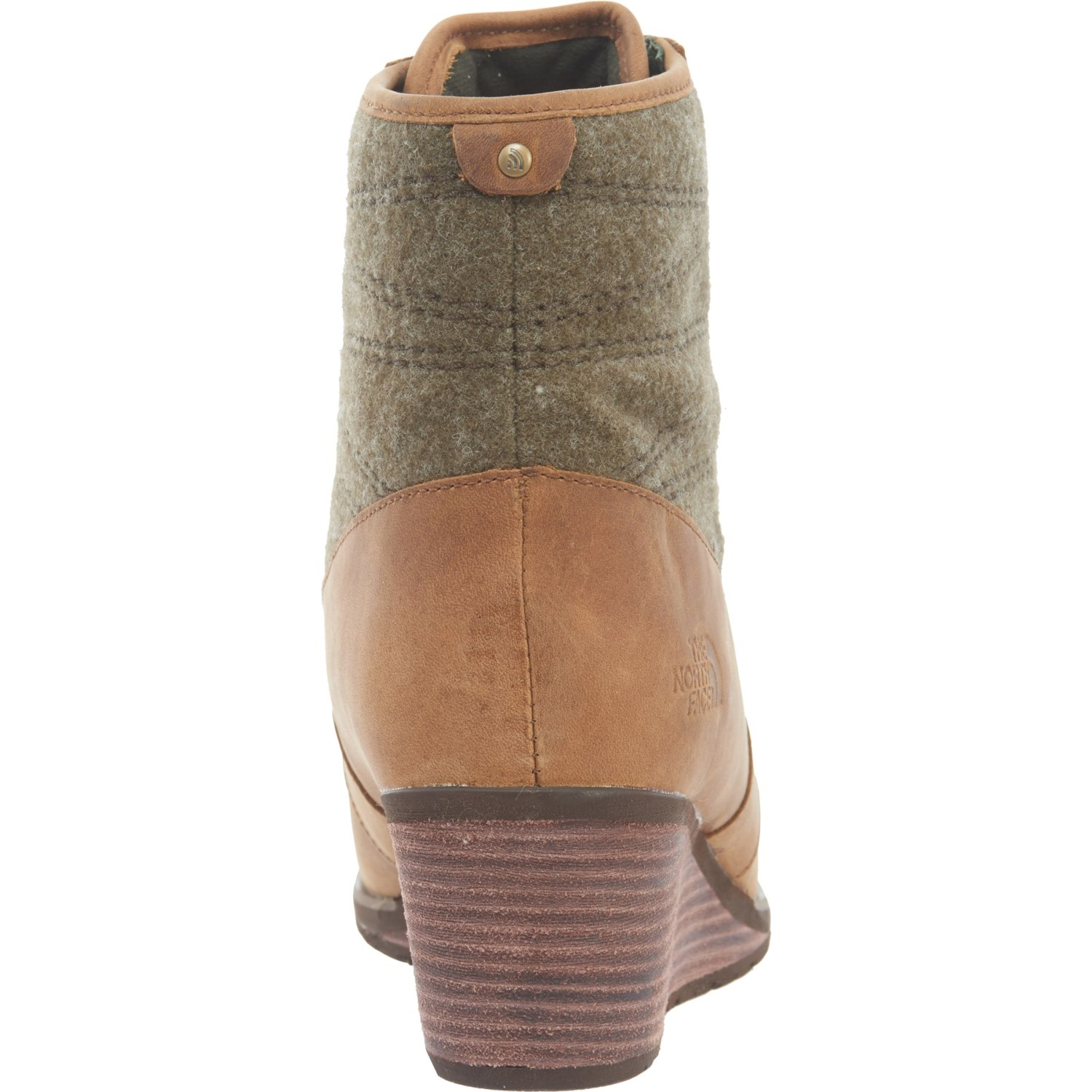 b4f018058 The North Face Bridgeton Wedge Lace-Up Boots (For Women)