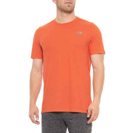 The North Face BTW T-Shirt - Short Sleeve (For Men) in Zion Orange - Closeouts